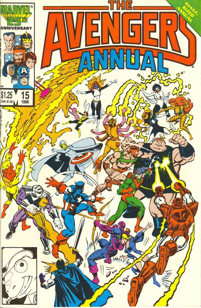 Avengers, The comic issue 15