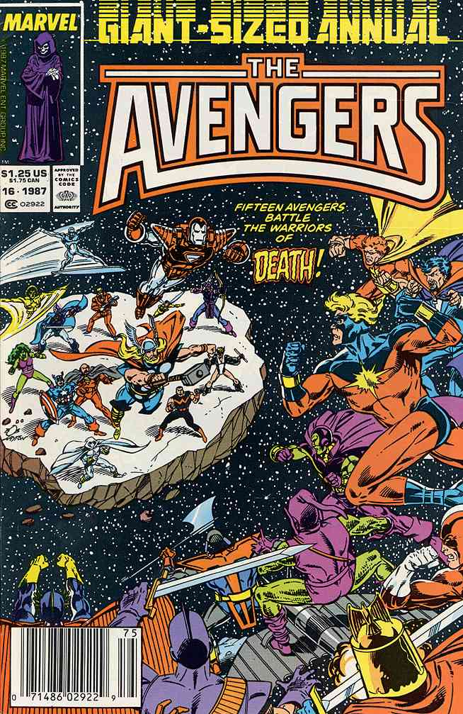 Avengers, The comic issue 16