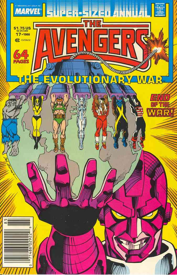 Avengers, The comic issue 17