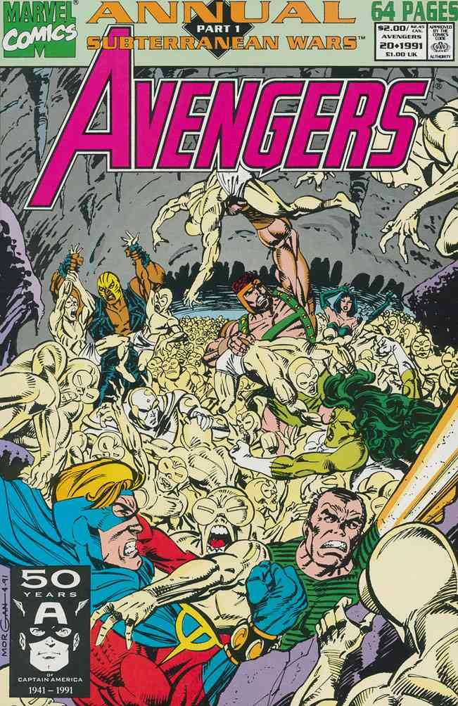 Avengers, The comic issue 20
