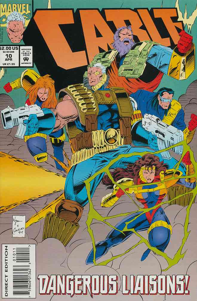 Cable comic issue 10
