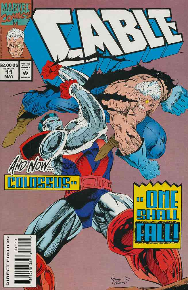 Cable comic issue 11