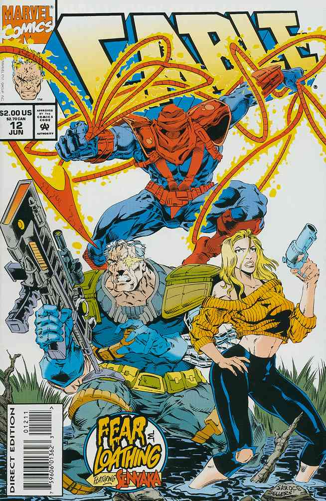 Cable comic issue 12