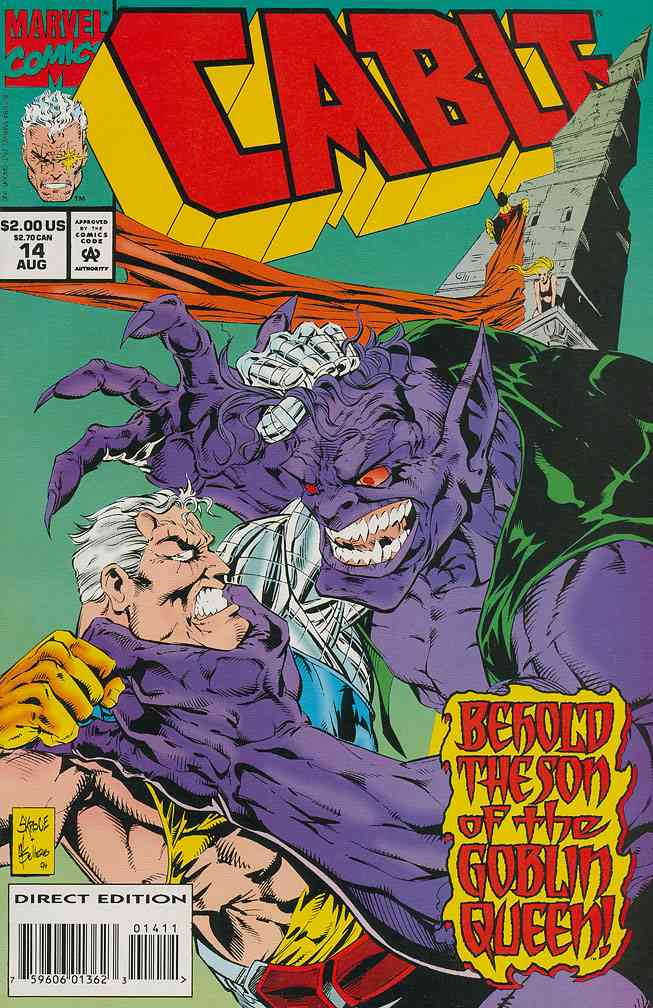 Cable comic issue 14