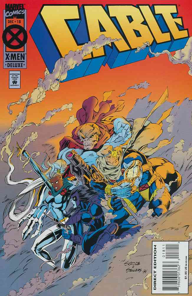 Cable comic issue 18