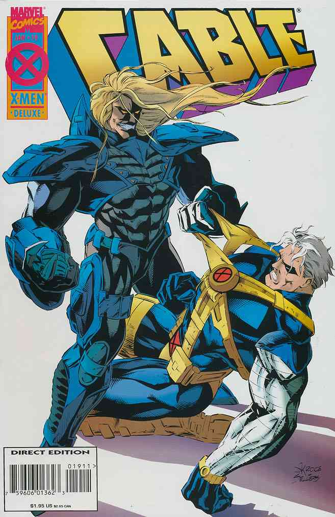 Cable comic issue 19