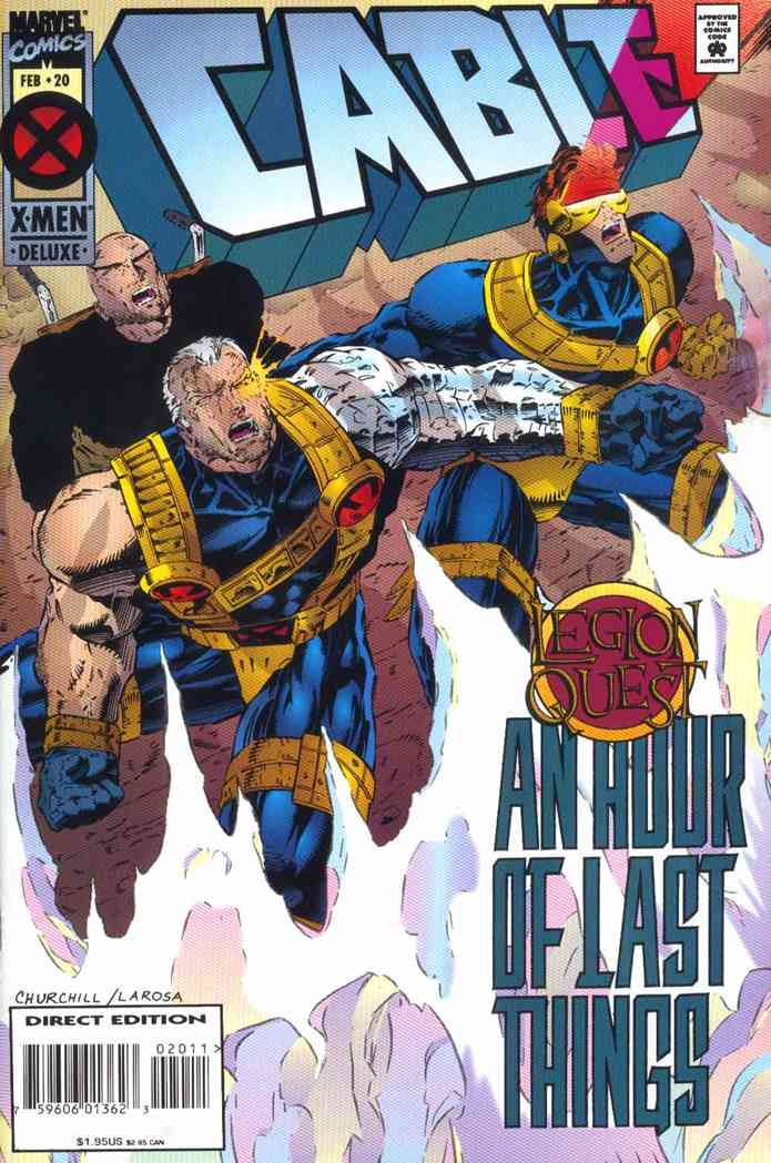 Cable comic issue 20