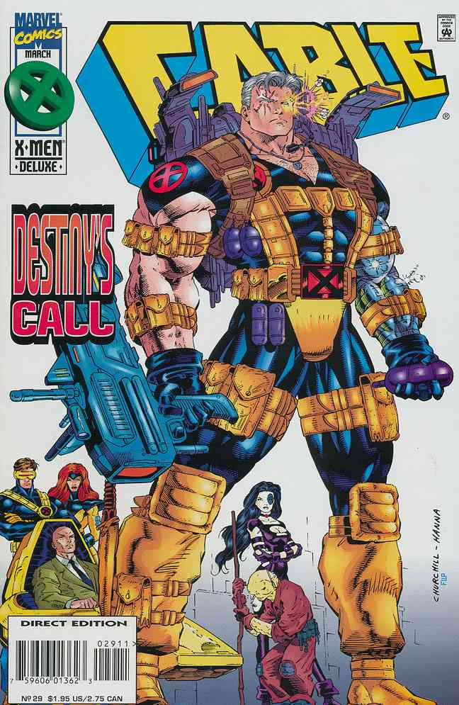 Cable comic issue 29