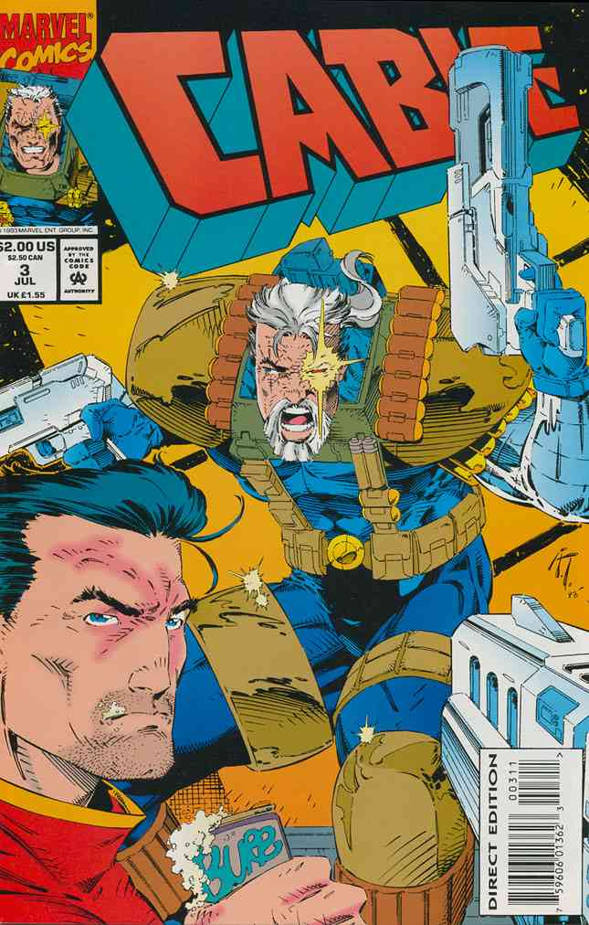 Cable comic issue 3