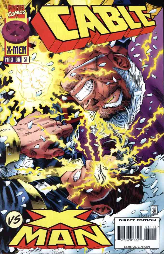 Cable comic issue 31