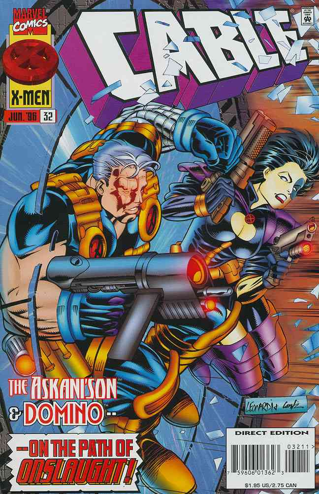 Cable comic issue 32