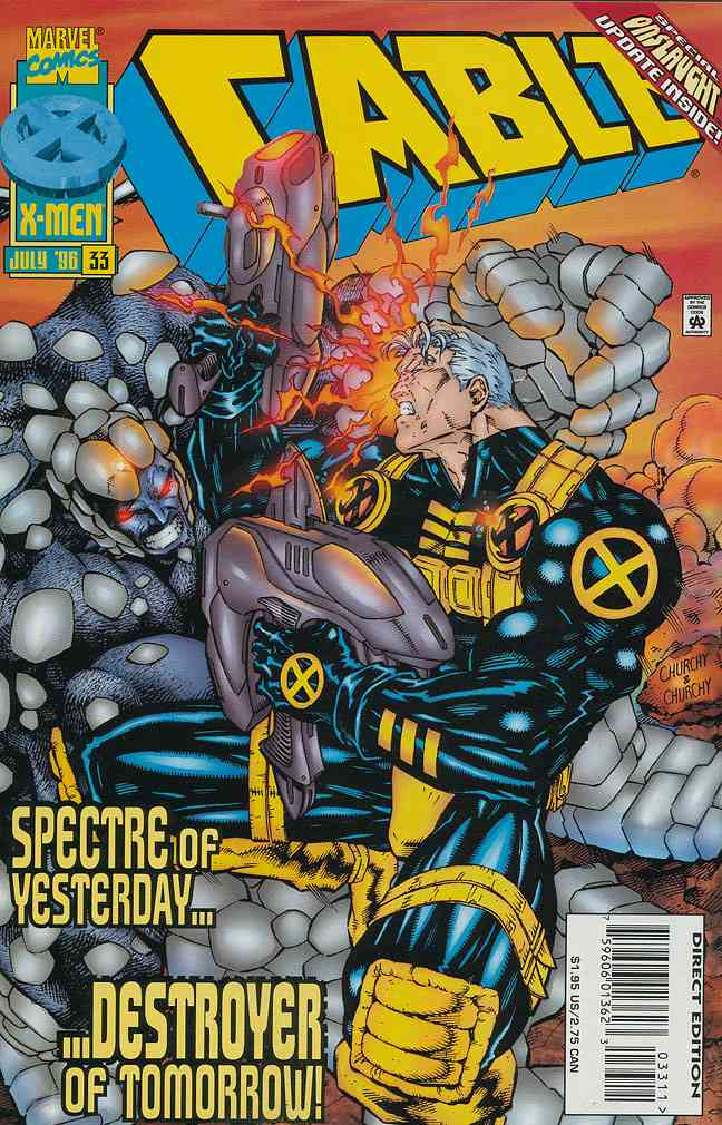 Cable comic issue 33