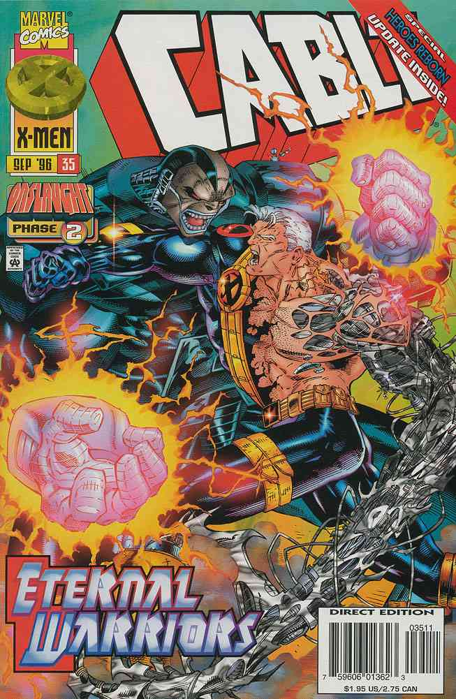 Cable comic issue 35