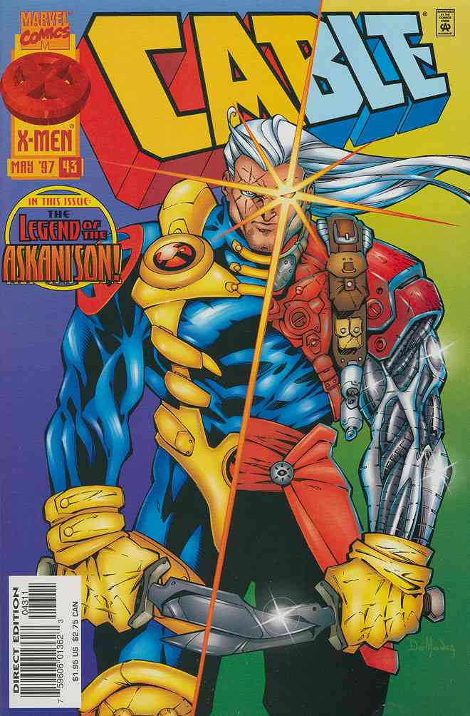 Cable comic issue 43