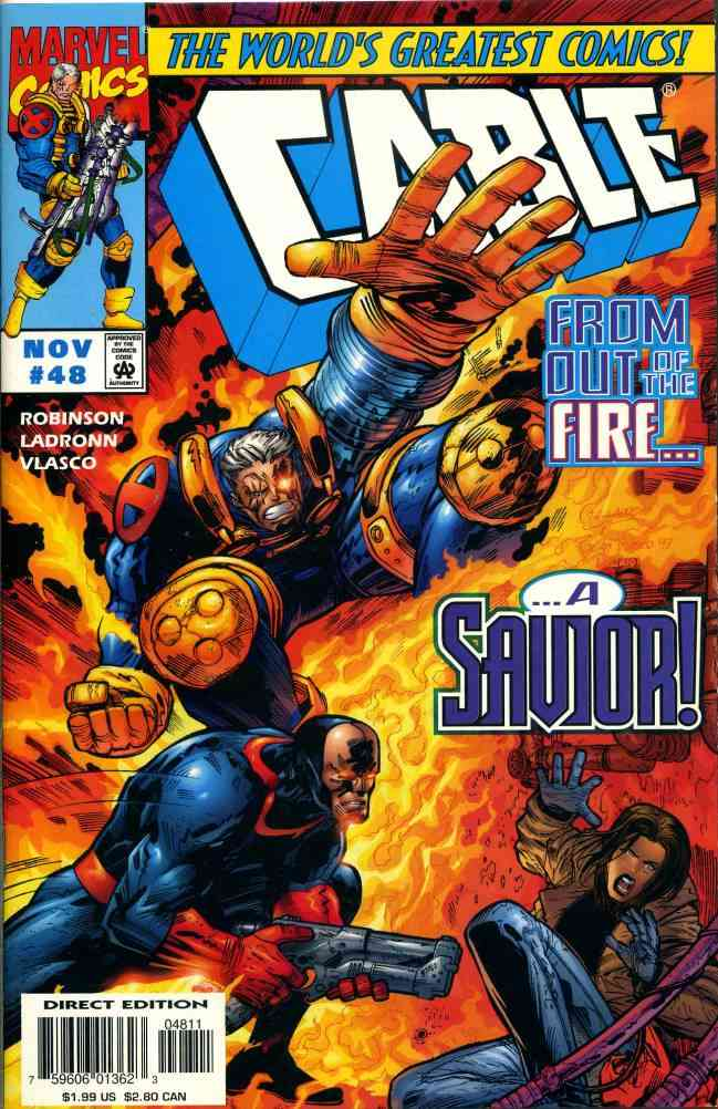 Cable comic issue 48
