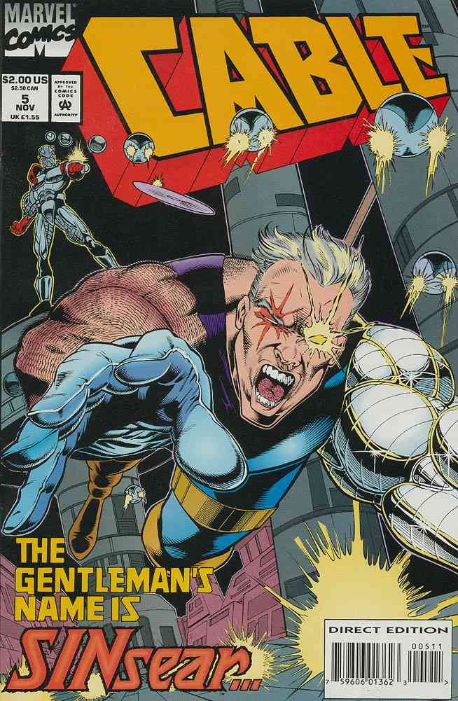Cable comic issue 5