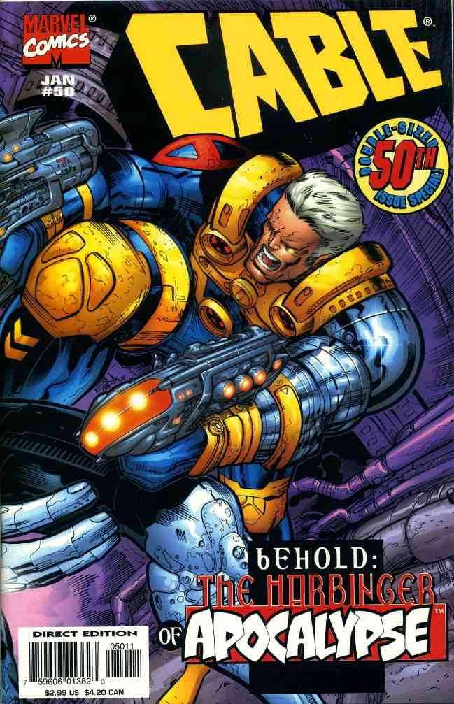 Cable comic issue 50