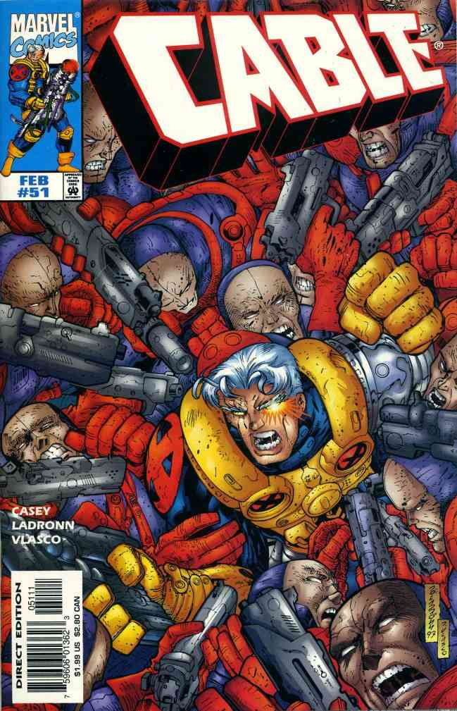Cable comic issue 51