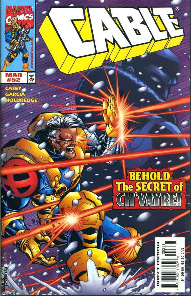 Cable comic issue 52
