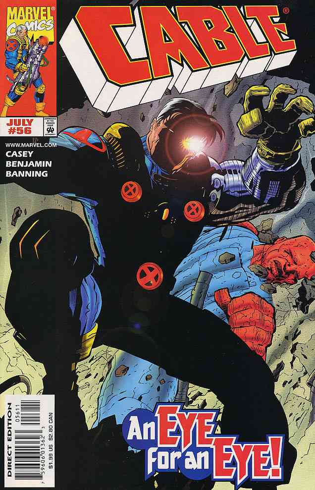 Cable comic issue 56