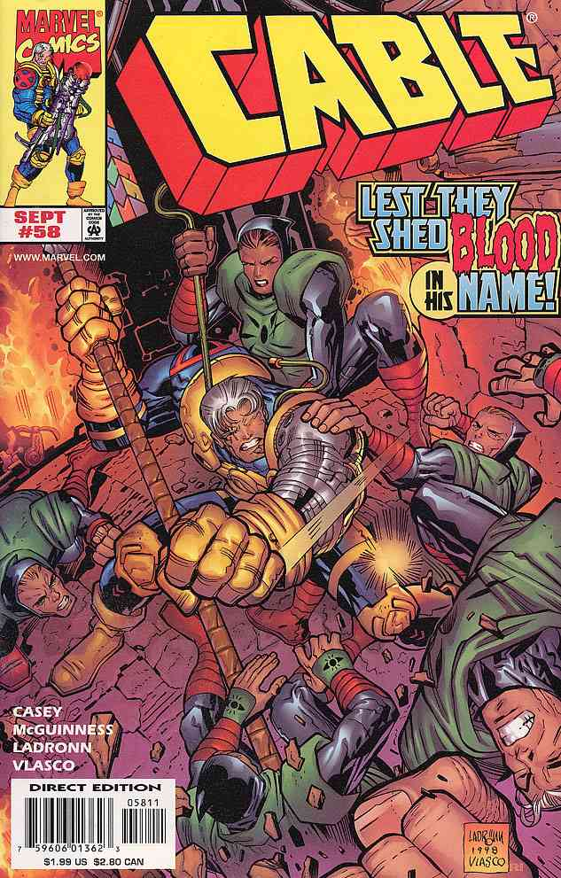 Cable comic issue 58