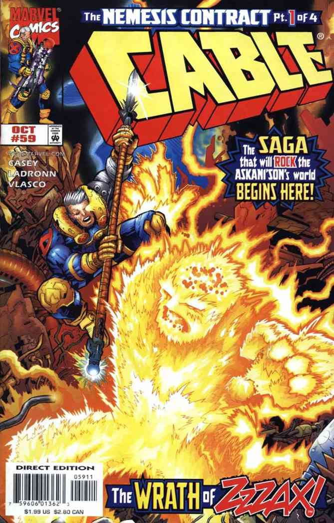 Cable comic issue 59