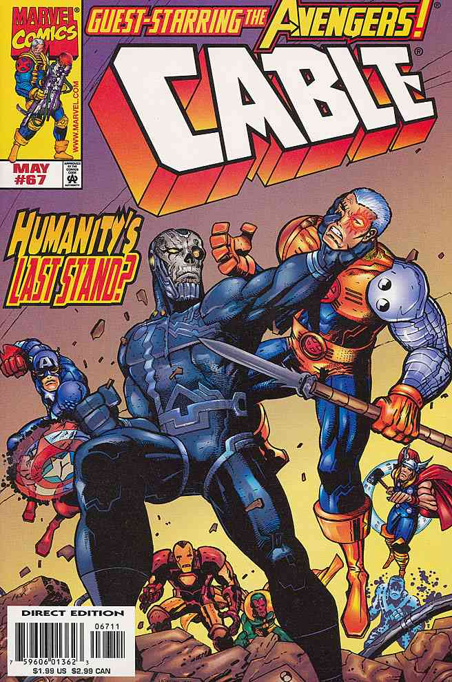 Cable comic issue 67