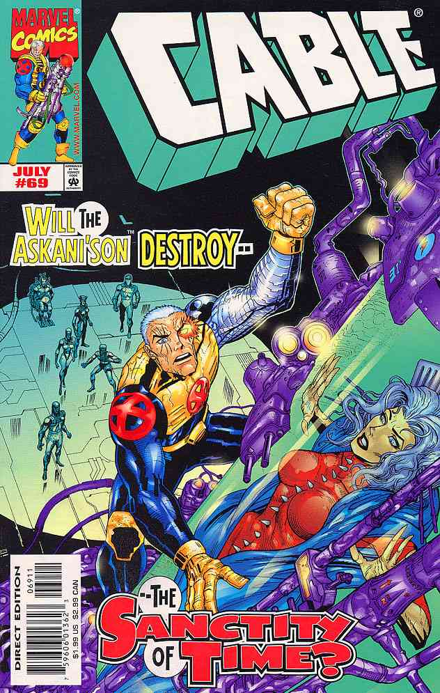 Cable comic issue 69
