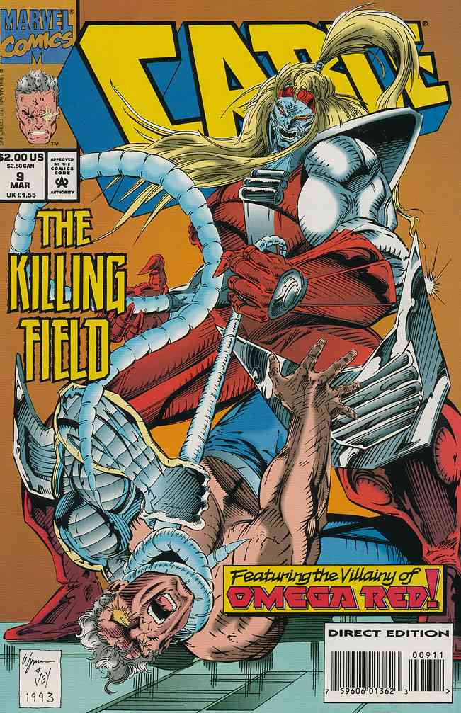 Cable comic issue 9