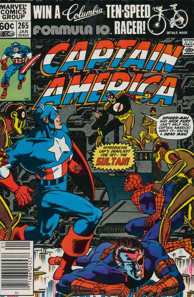 Captain America (1st Series) comic issue 265