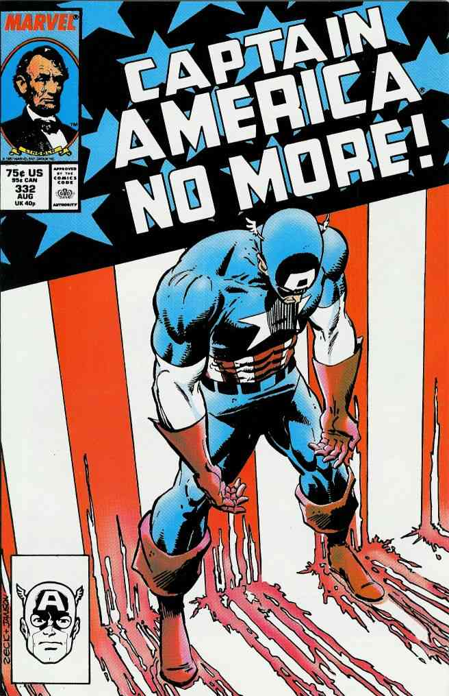 Captain America (1st Series) comic issue 332