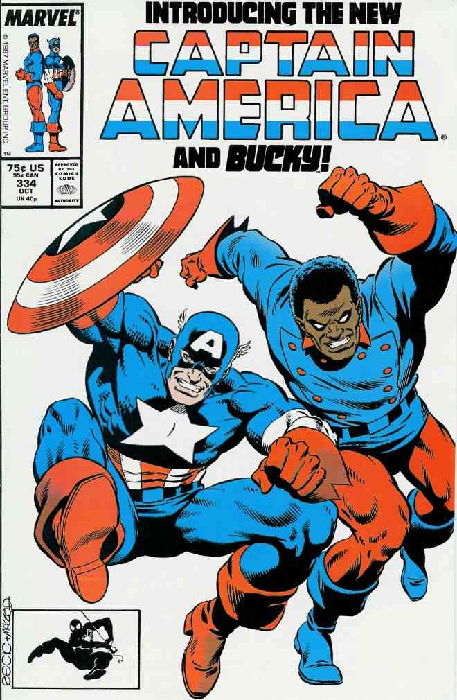 Captain America (1st Series) comic issue 334