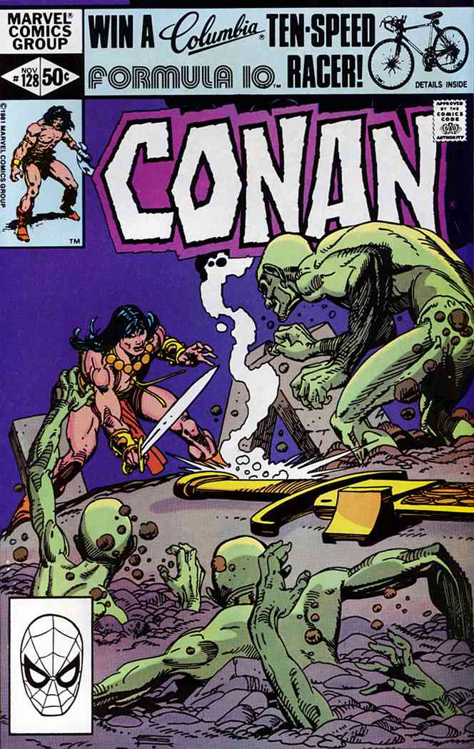 Conan the Barbarian comic issue 128