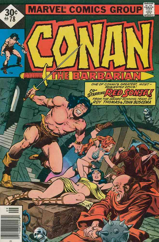 Conan the Barbarian comic issue 78