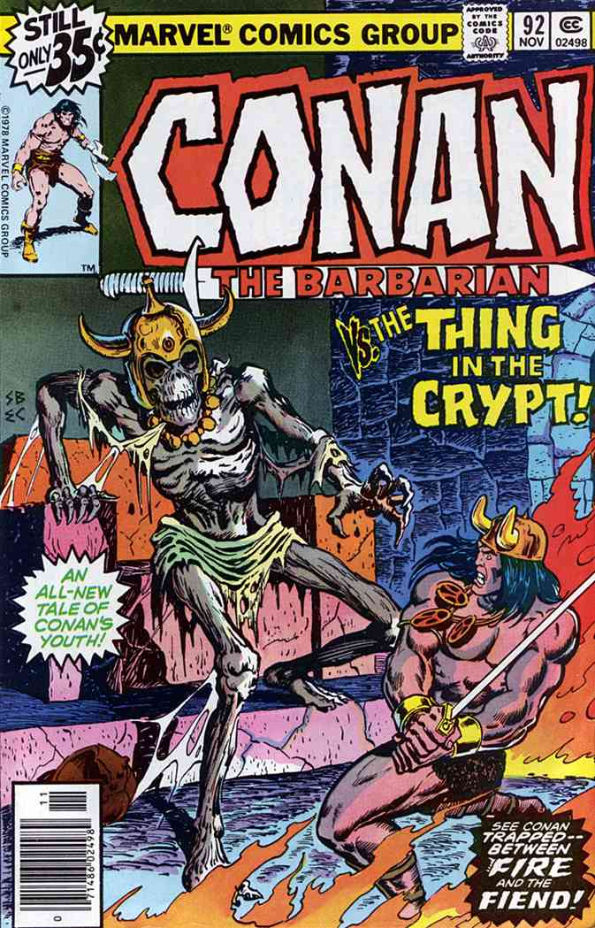 Conan the Barbarian comic issue 92