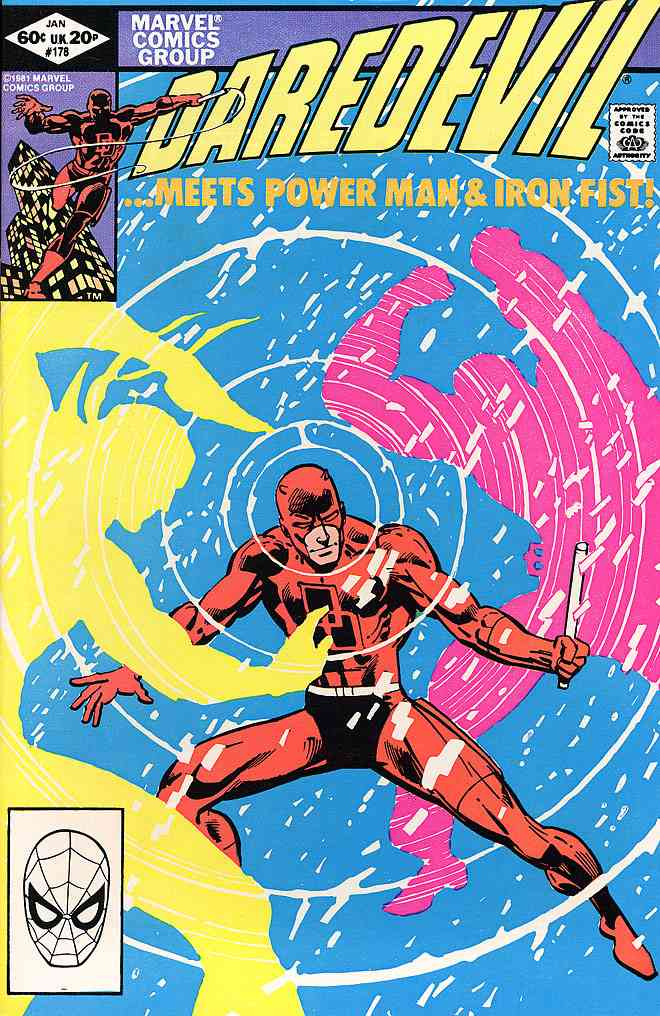 Daredevil comic issue 178
