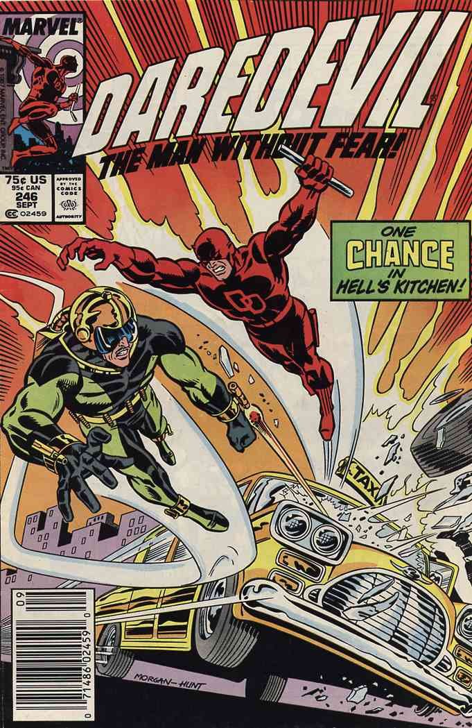Daredevil comic issue 246