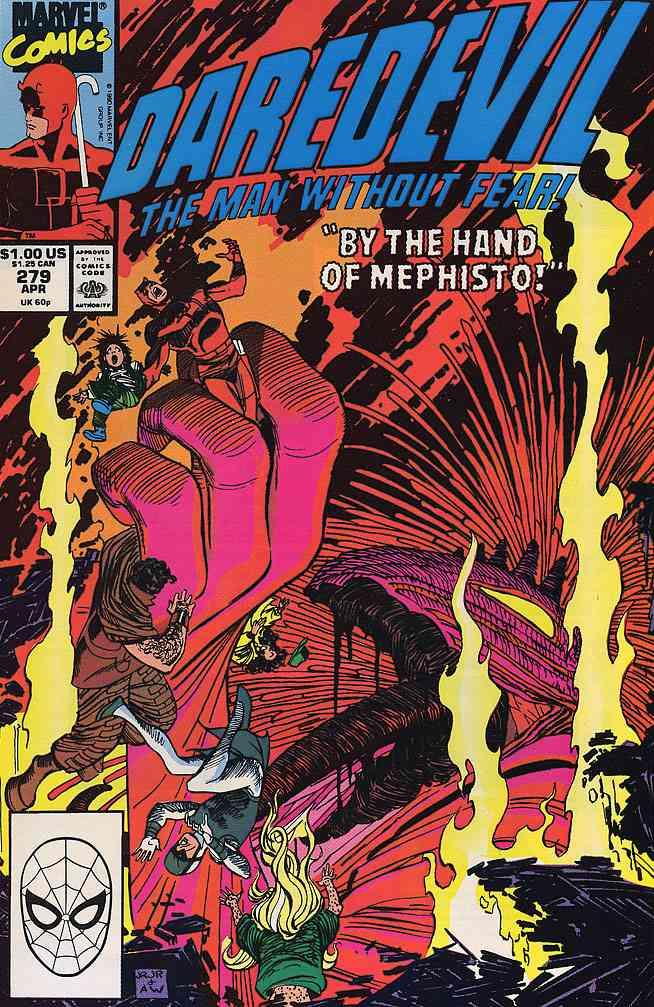 Daredevil comic issue 279