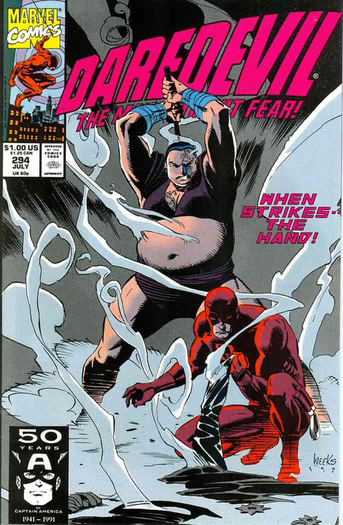 Daredevil comic issue 294