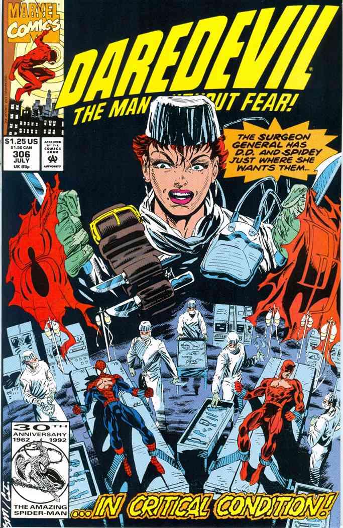 Daredevil comic issue 306