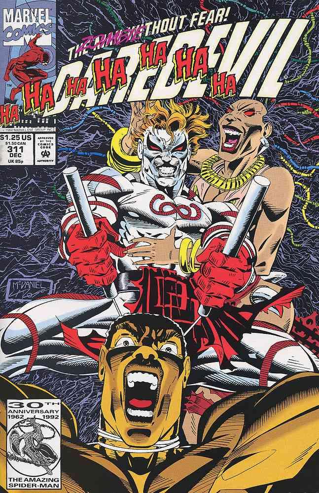 Daredevil comic issue 311