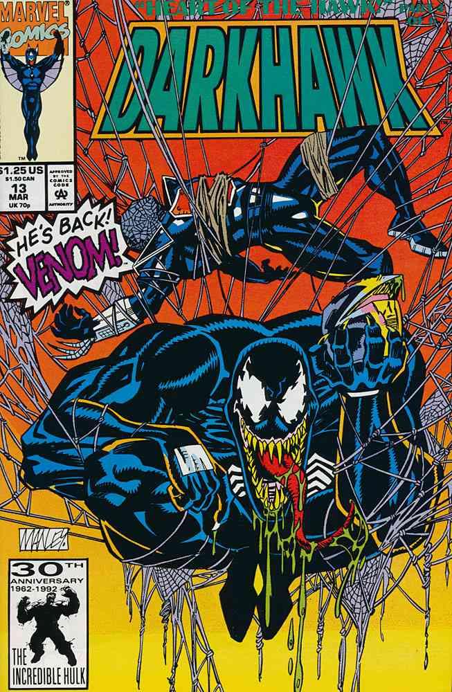Darkhawk comic issue 13