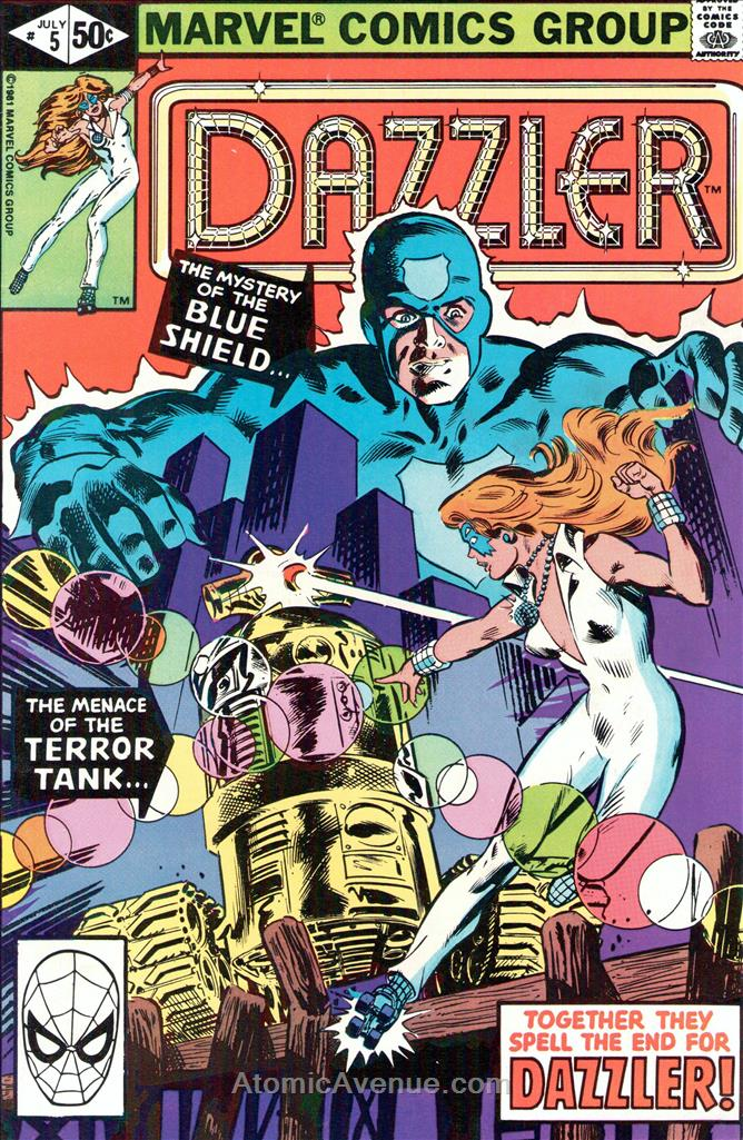 Dazzler comic issue 5
