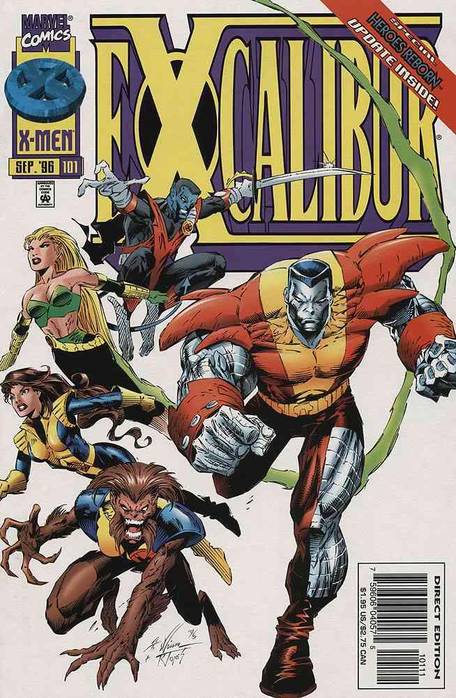 Excalibur comic issue 101