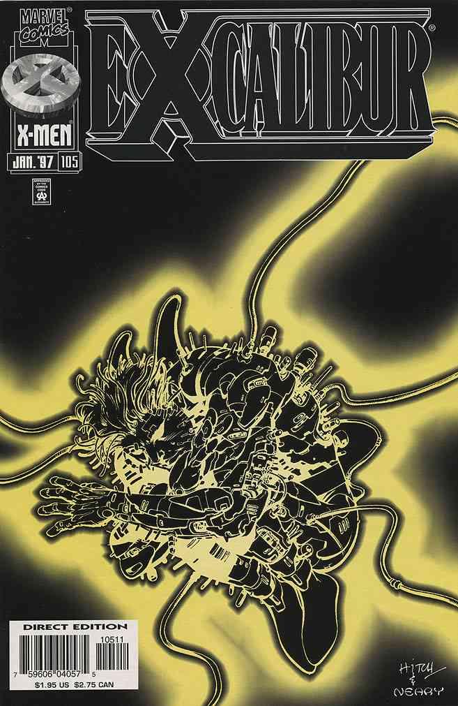 Excalibur comic issue 105