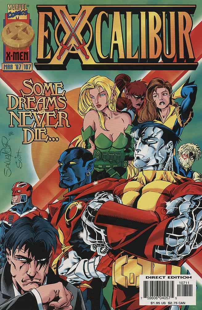 Excalibur comic issue 107