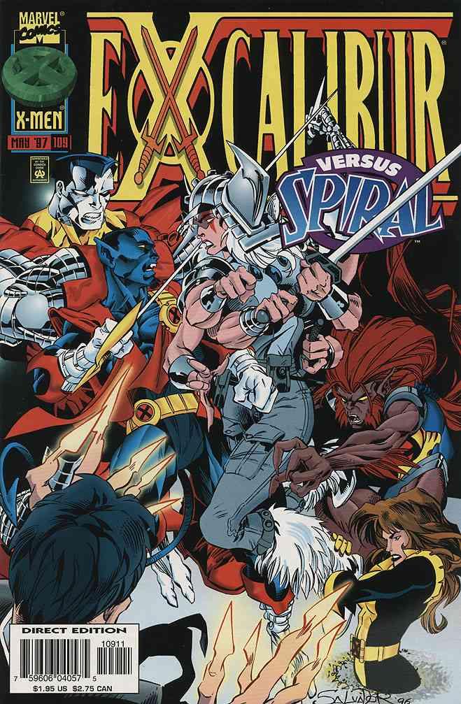 Excalibur comic issue 109