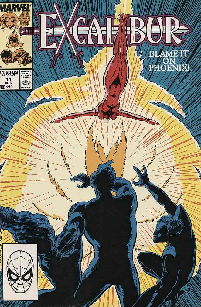 Excalibur comic issue 11