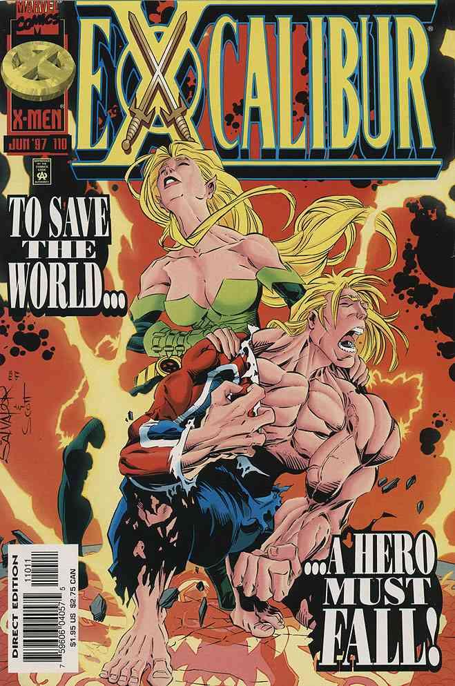Excalibur comic issue 110