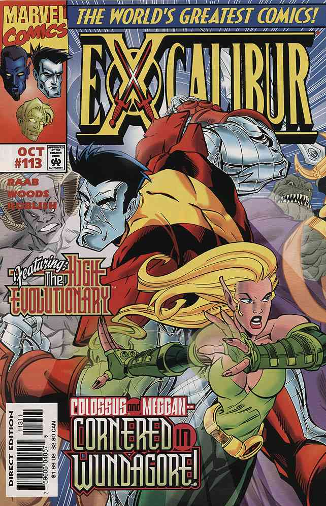 Excalibur comic issue 113